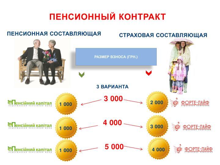 Пенсионный контракт
