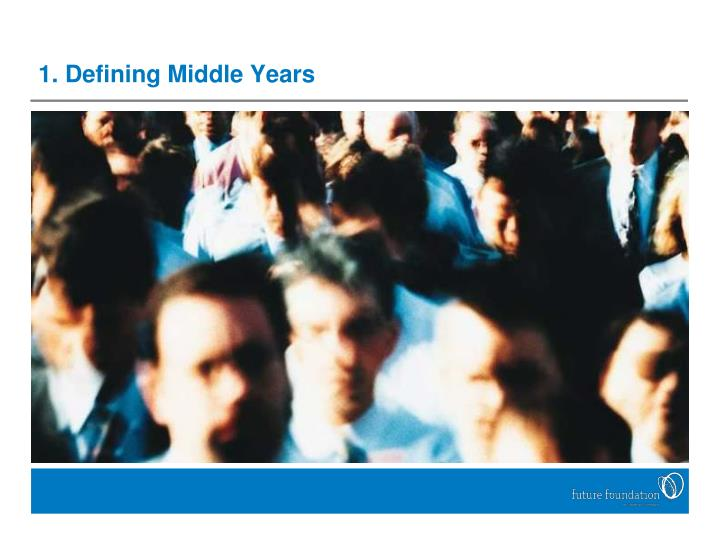 1. Defining Middle Years