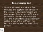 remembering god1