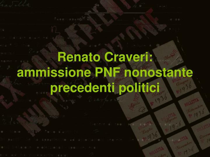 Renato Craveri: