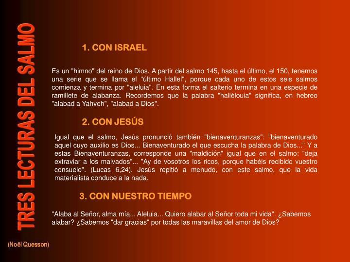 1. CON ISRAEL