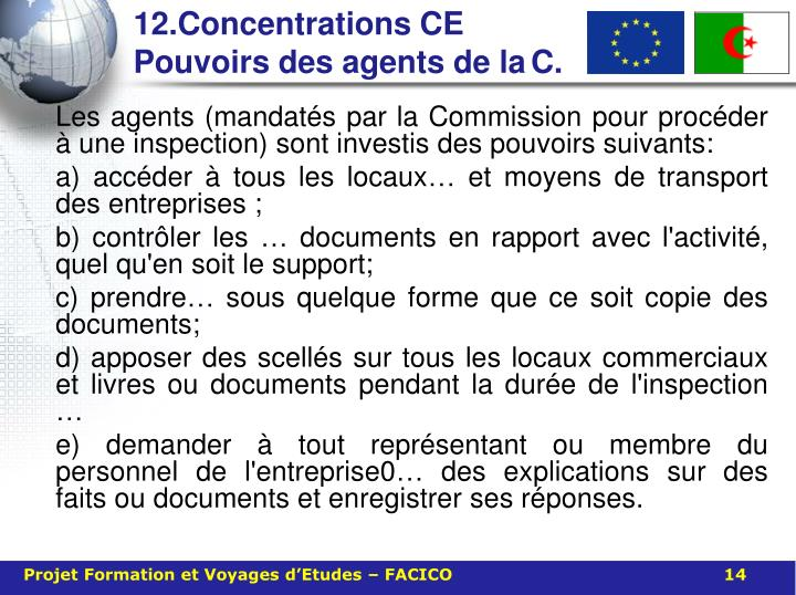 12.Concentrations CE