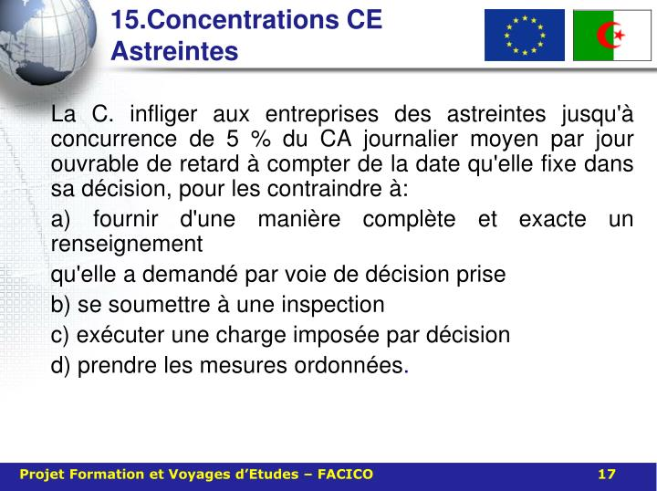 15.Concentrations CE