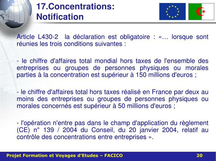 17.Concentrations: