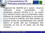 6 concentrations ce notification pr alable suite 1