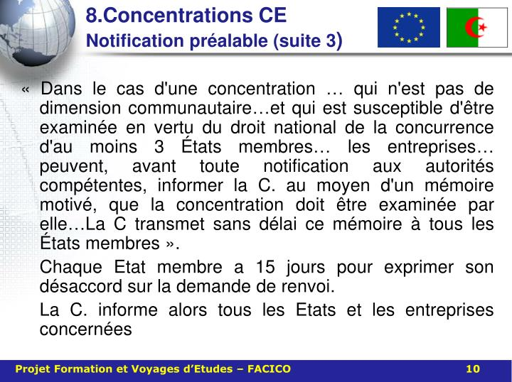 8.Concentrations CE