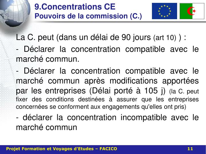 9.Concentrations CE