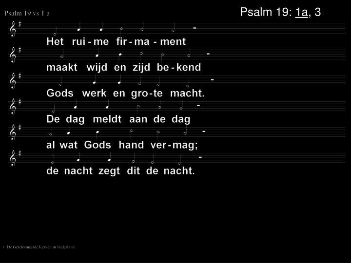 Psalm 19: