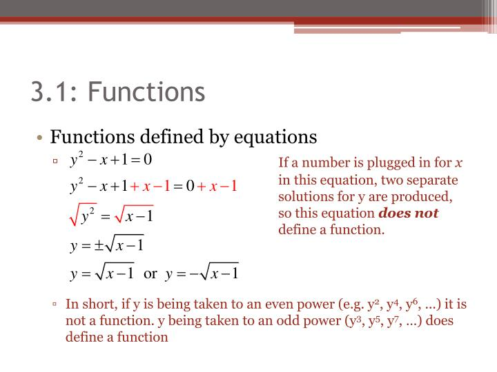 3.1: Functions