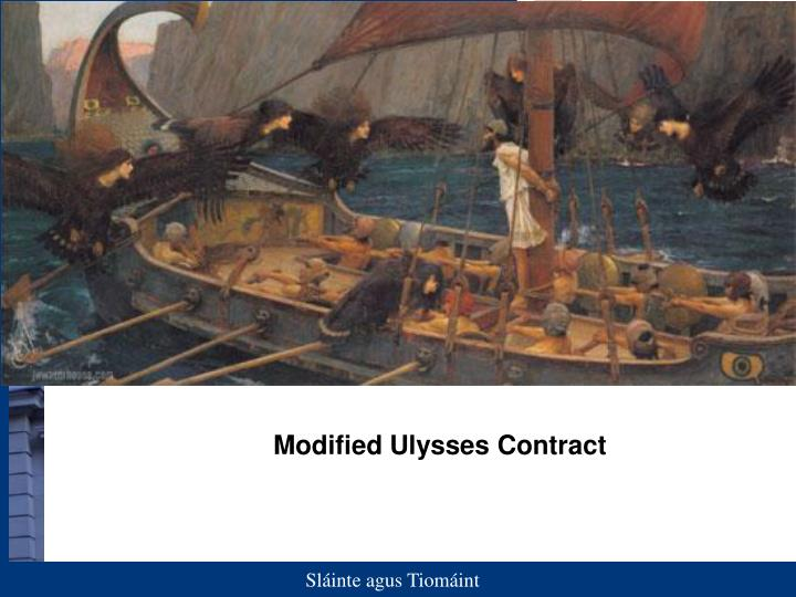 Modified Ulysses Contract