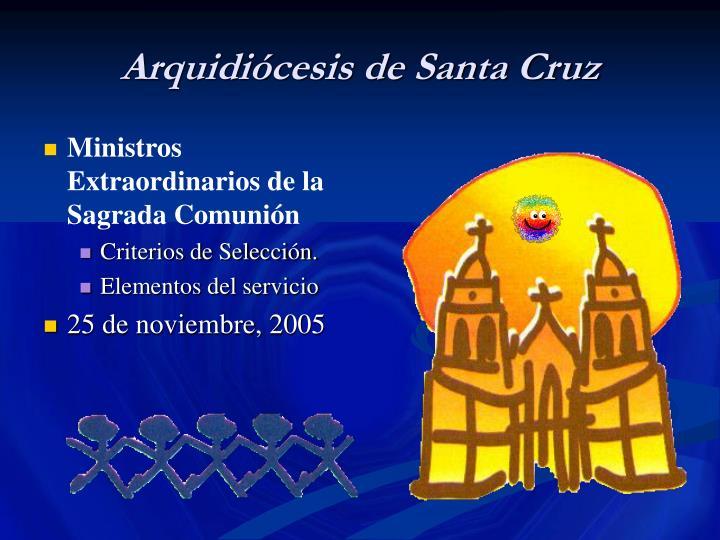 Arquidiócesis de Santa Cruz