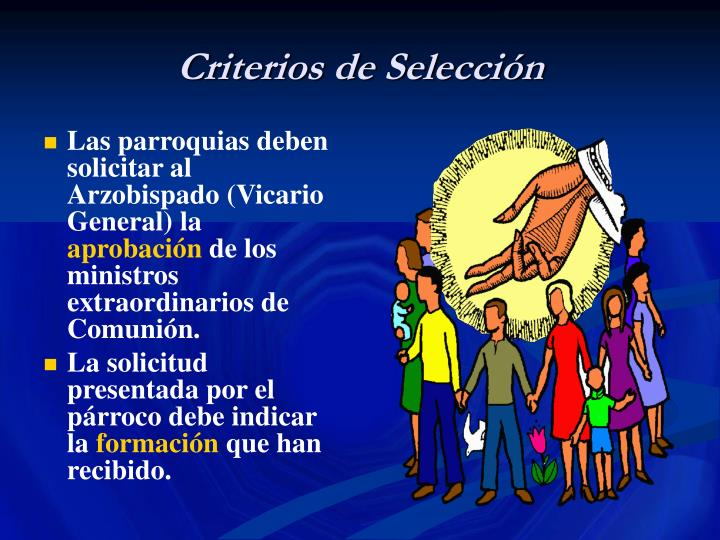 Criterios de Selección