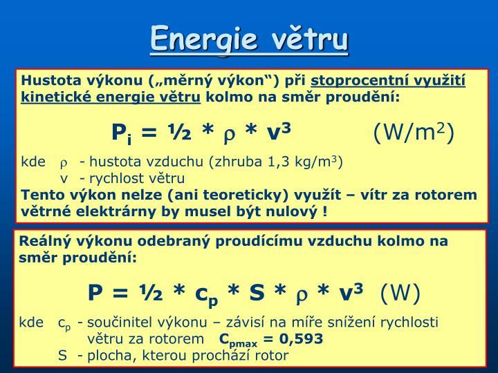 Energie větru