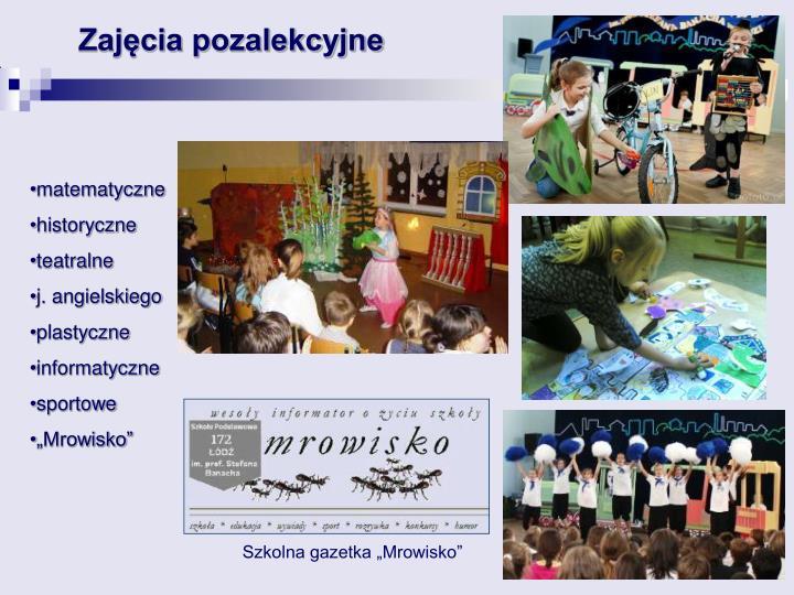 """Szkolna gazetka """"Mrowisko"""""""
