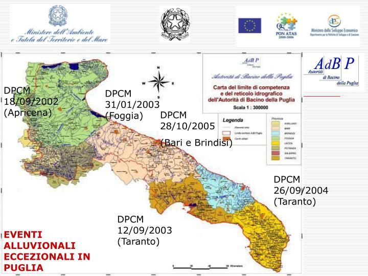 DPCM 18/09/2002 (Apricena)