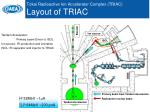 tokai radioactive ion accelerator complex triac layout of triac