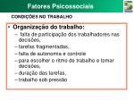 fatores psicossociais3