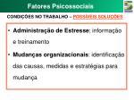 fatores psicossociais7