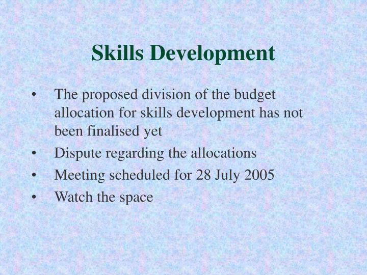 Skills Development