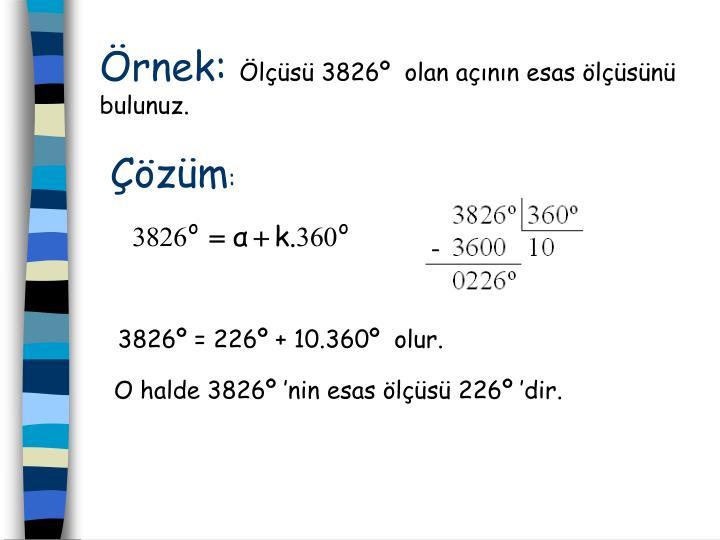 rnek: