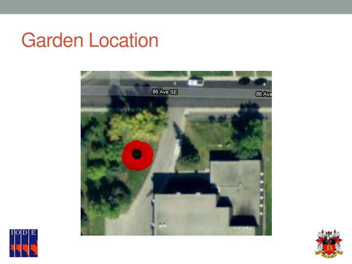 Garden Location