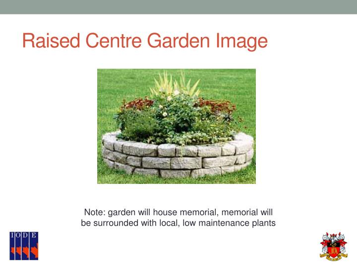 Raised Centre Garden Image