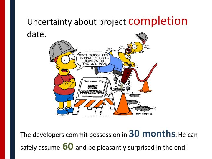 Uncertainty about project