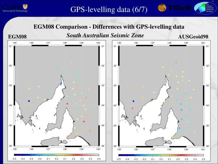 GPS-levelling data (6/7)