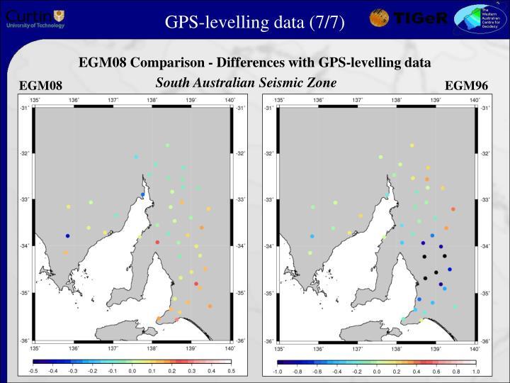 GPS-levelling data (7/7)