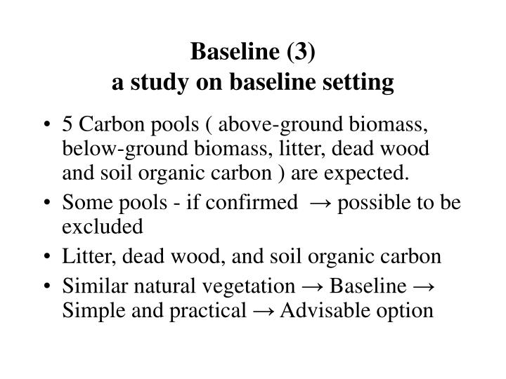 Baseline (3)
