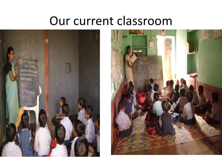 Our current classroom