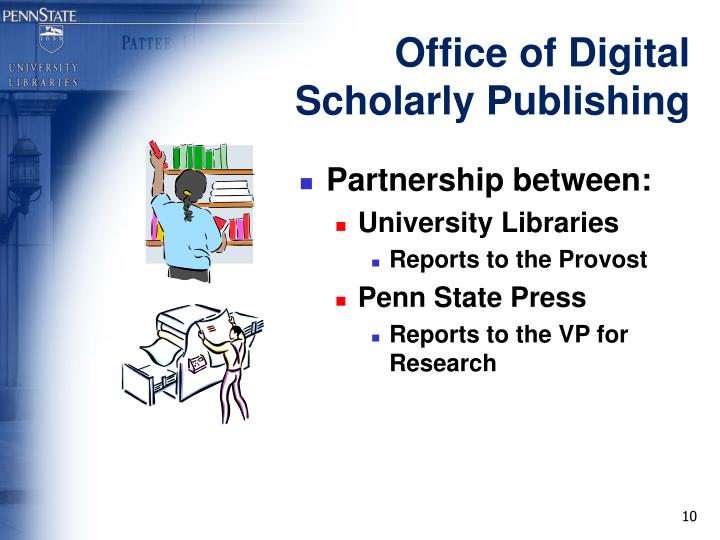Office of Digital Scholarly Publishing