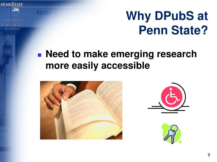 Why DPubS at Penn State?