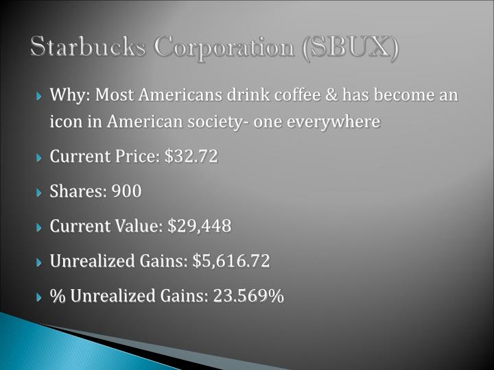 Starbucks Corporation (SBUX)