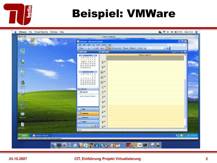 Beispiel: VMWare