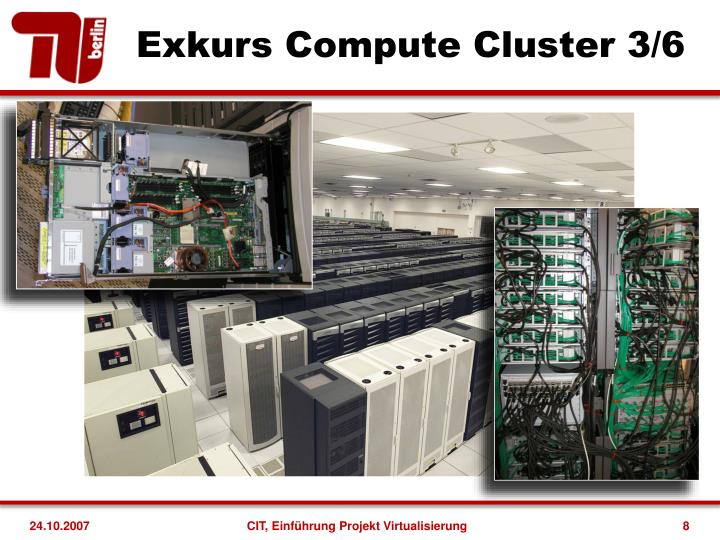 Exkurs Compute Cluster 3/6