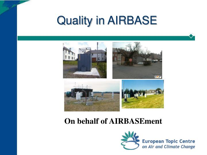 Quality in airbase
