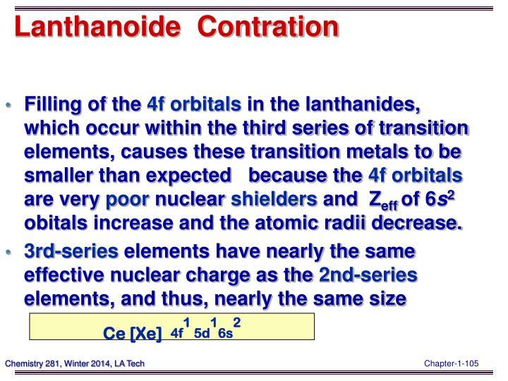 Lanthanoide