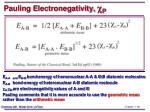 pauling electronegativity c p