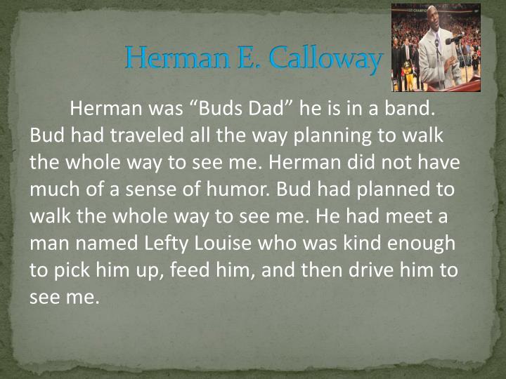 Herman E. Calloway