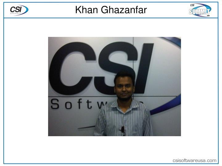 Khan Ghazanfar