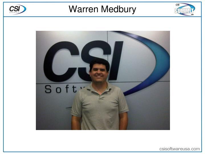 Warren Medbury