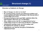 structural change 1