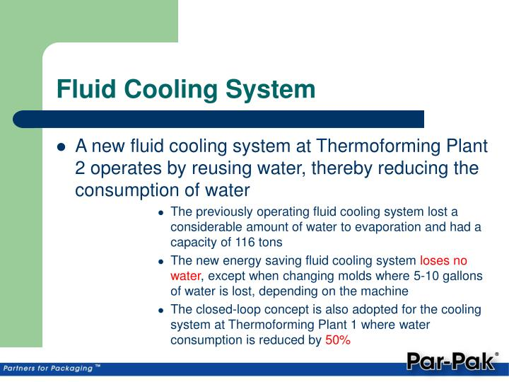 Fluid Cooling System