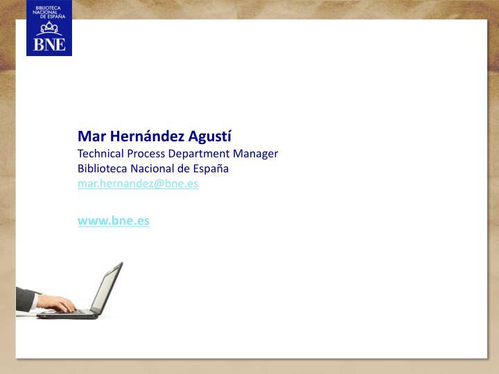 Mar Hernández Agustí