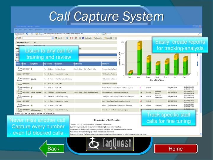 Call Capture System