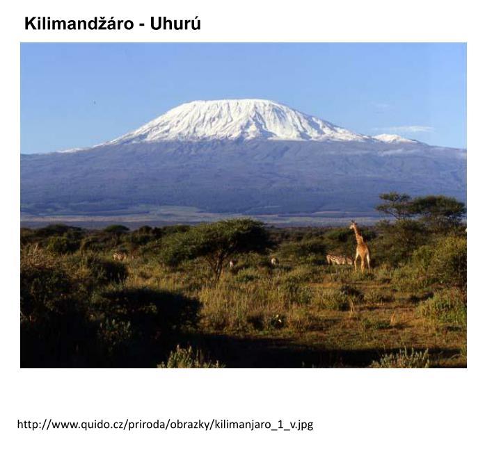 Kilimandžáro -