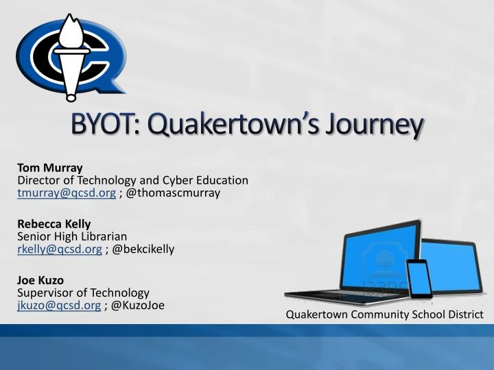 Byot quakertown s journey