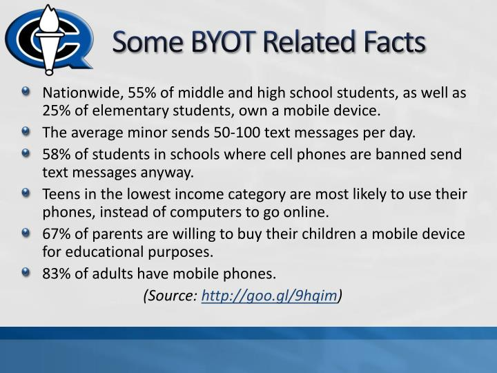 Some BYOT Related Facts
