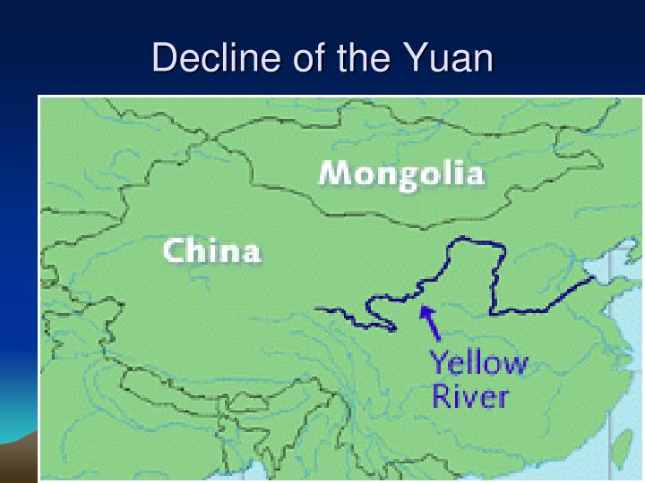 Decline of the Yuan